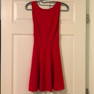 Red American apparel dress